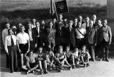 25.Vereinsjubiläum und Bezirksfest 1950
