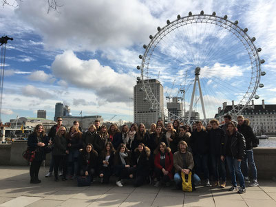 Englandfahrt - London Eye