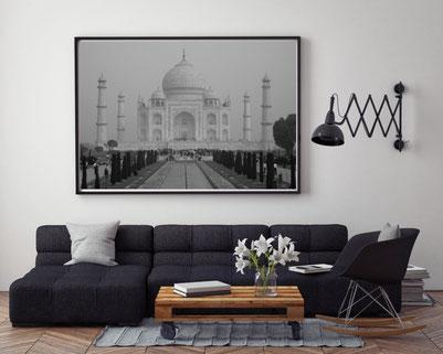 Fotografie Indien, Agra, Taj Mahal