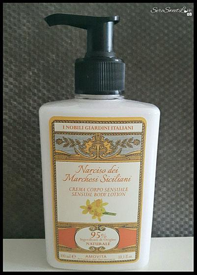 Crema corpo fluida  Amovita