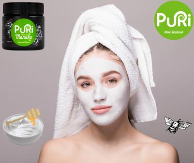 Masque Visage au Miel de Manuka Puri New Zealand