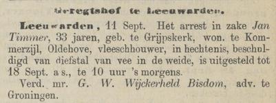 Provinciale Drentsche en Asser courant 13-09-1879