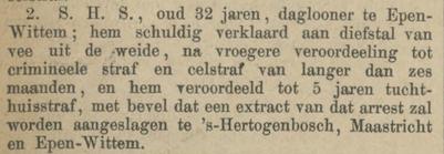 Provinciale Noordbrabantsche en 's Hertogenbossche courant 20-09-1879