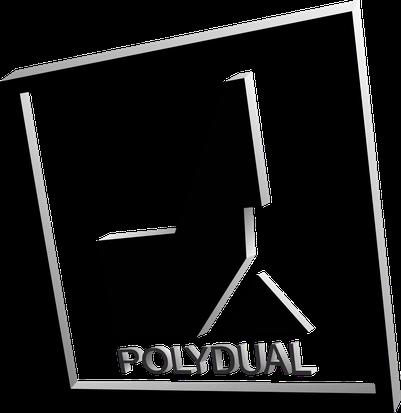 branding3D Logo Polydual mit Licht und Schatten Effekte