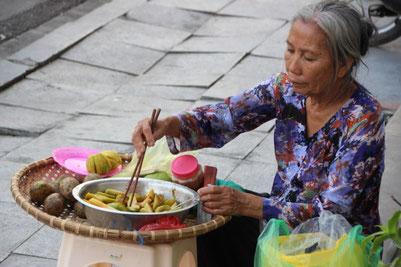 Scène de la vie de tous les jours à Hanoi