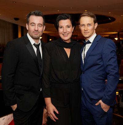 Oliver Kienle, Christian Schwochow, Lisa Blumenberg, International Emmy Award, Bad Banks