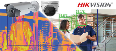 misurazione temperatura corporea telecamere videocamere termiche termografiche