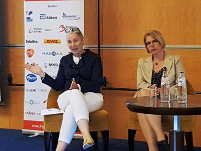 Debora Mattys (left) and Andrea Gruber  -  photo: ms