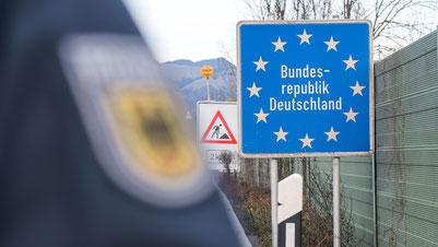 Die Grenzen nach Deutschland werden allmählich wieder geöffnet. Foto: Bundespolizei Deutschland