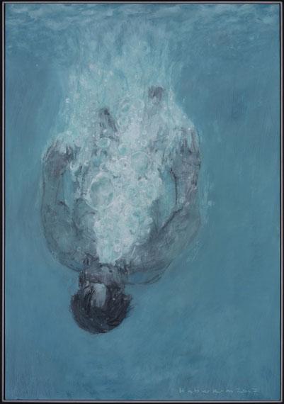Tim Haberkorn, Jona wird ins Wasser geworfen - oder: Der Künstler wird berufen zur Arbeit in der See