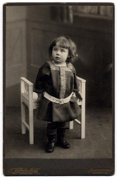 C.W, als Kind