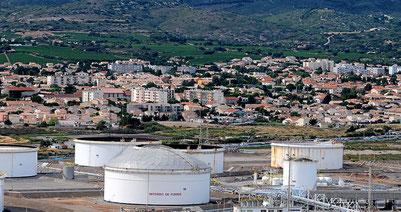 Le dépôt d'hydrocarbures de GDH est concerné.