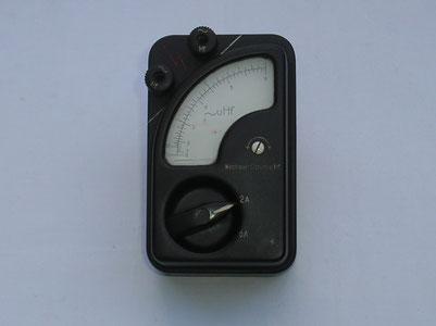 Zusatz für Hochfrequente Wechselströme bis 6,0 Ampere.