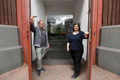 Stephan Markgraf und Jessika Ammerschuber machen am 20. August die Türen von Tabgha weit auf.