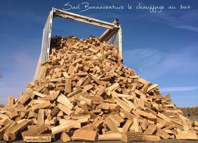 livraison bois sec nf dans le 49 maine et loire près d'Angers