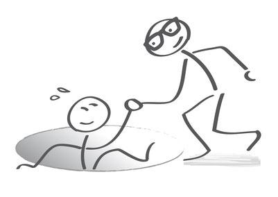 Homöopath und Patient