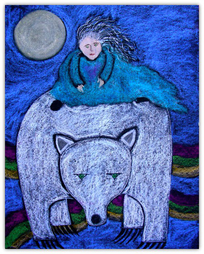 Riding the White Bear Home by Marilyn Hagar