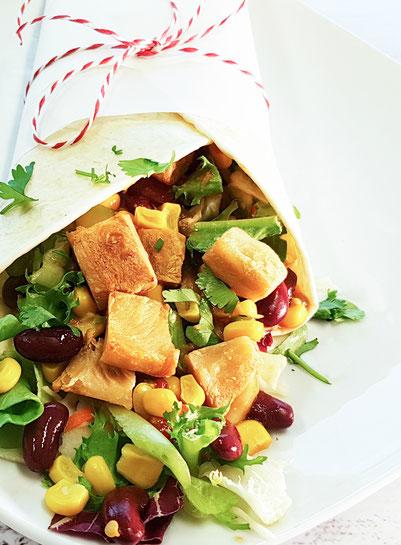 vegan, wrap, garden gourmet