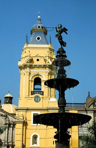 Stadtbesichtigung der Altstadt Limas - Kathedrale