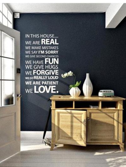 Black attitude osez la peinture noir sur vos murs for Vinilos pared fortnite