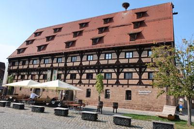 Das Museum HopfenBierGut in Spalt.
