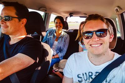 Unterwegs mit Jan und Jay