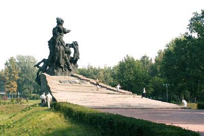 Памятник расстрелянным  в Бабьем Яру