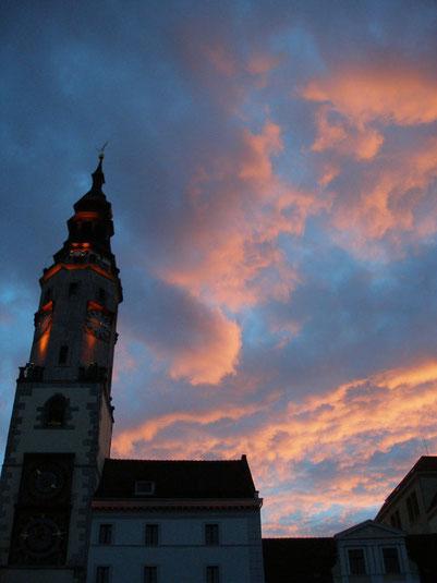Rathaus von Görlitz am Untermarkt. Foto: R. Harder