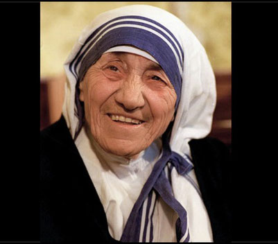 Mother Teresa of Calcutta. Image license CC