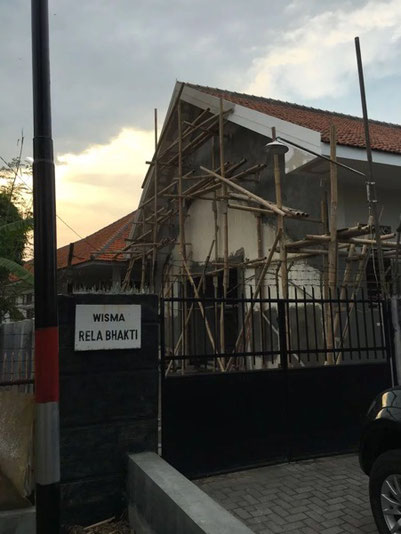 The newest building under construction in Semarang