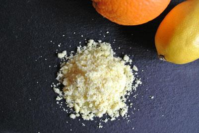 Orangen-Zitronen-Zucker & Glühweingewürz aus Zitronenschale (auch für Thermomix)