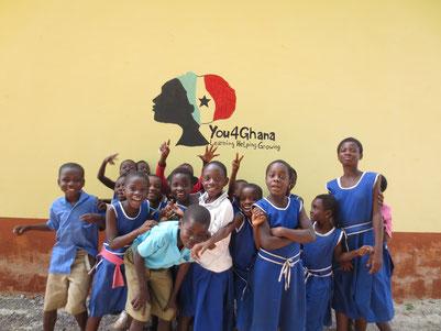 Kinder in Ghana mit You4Ghana