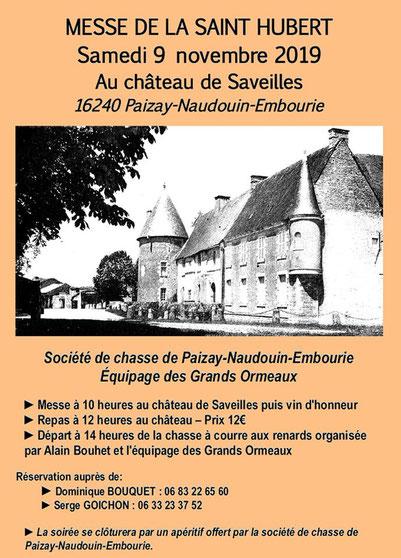 Affiche - Château de Saveilles ©photo-Propriétaire