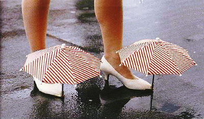 Umbrella for Shoes?