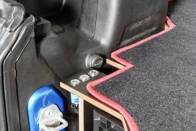 Innenausbau für den Jeep Wrangler JKU: Hochwertige Oberflächen, perfekte Verarbeitung