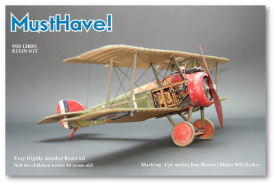 Maquette MustHave! Sopwith Camel