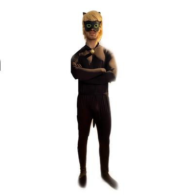 mascotte chat noir