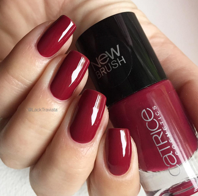 swatch Catrice It's a very Berry Bash