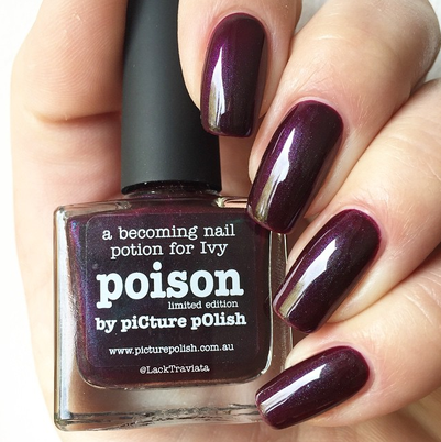 swatch picture polish poison