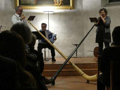 Ändu am Erwachsenenkonzert der Musikschule Region Baden, 25.01.2019
