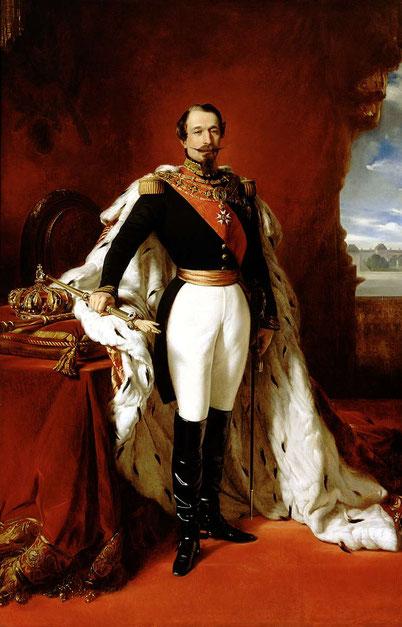 Napoleon III. 1855; F.X. Winterhalter