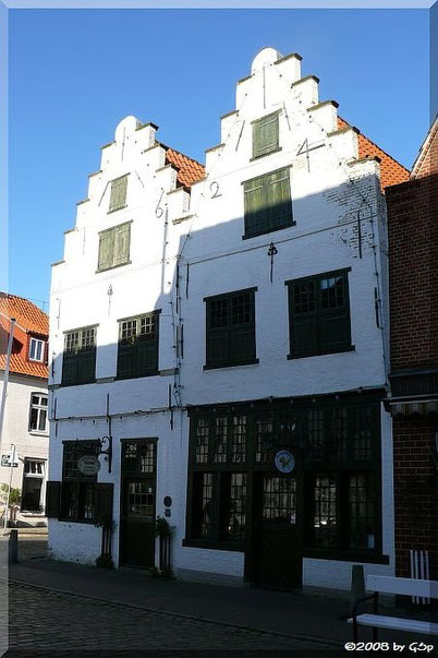 Das Doppelgiebelhaus (erbaut 1624) Prinzenstraße 23