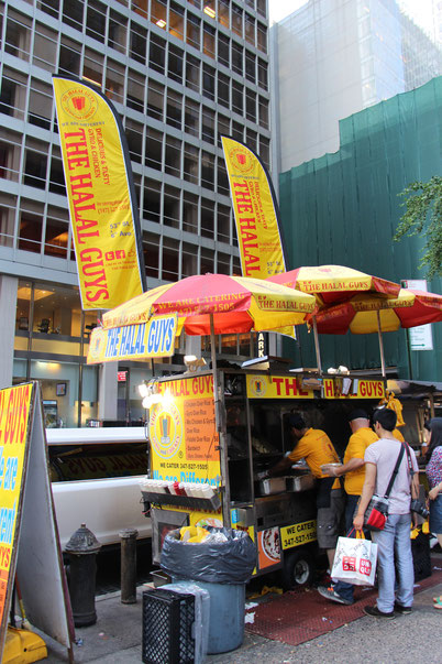 Baby Travel New York City - The Halal Guys
