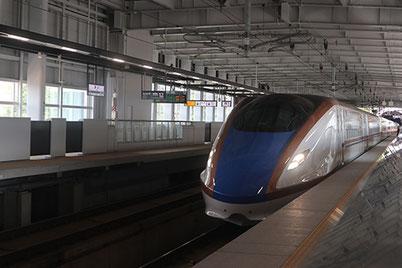 飯山駅 新幹線