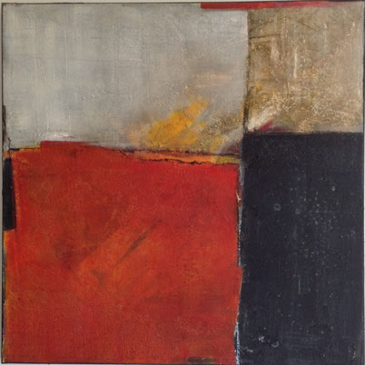 Leinwand, 60 x 60 cm, Mischtechnik - Christiana Sieben