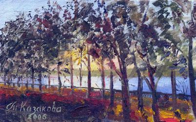"""Татьяна Казакова. """"Осенний вечер"""" (1), 2006"""