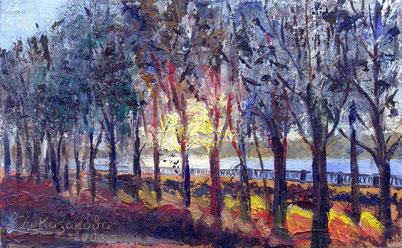 """Татьяна Казакова. """"Осенний вечер"""" (2), 2006"""