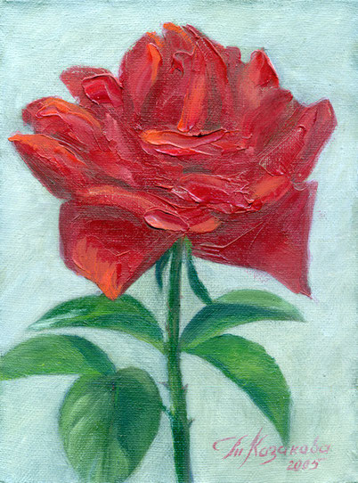 "Татьяна Казакова. ""Роза"", 2005"