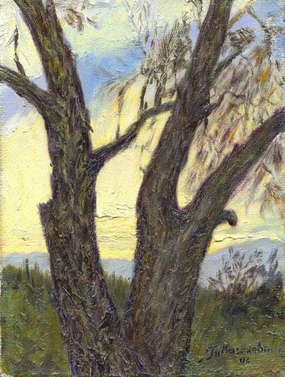 """Татьяна Казакова. """"Два дерева"""", 2002"""