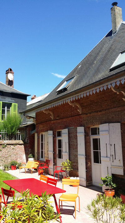 le Balcon en B : la terrasse